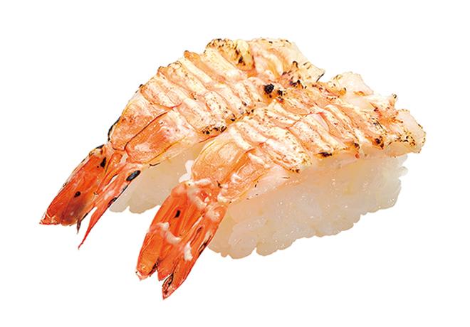 image of 火炙蛋黄酱鲜虾